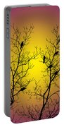 Silhouette Birds Portable Battery Charger