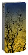 Silhouette Birds Sequel Portable Battery Charger