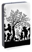 Silhouette Family Life Portable Battery Charger