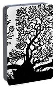Silhouette Hunting Portable Battery Charger