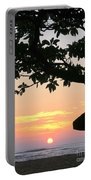 Silhouette Sunrise Portable Battery Charger