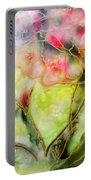 Silky Almond Flower Portable Battery Charger