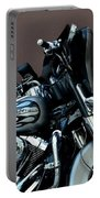 Silver Harley Motorcycle Portable Battery Charger
