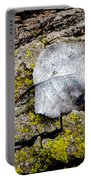 Silver Leaf Portable Battery Charger