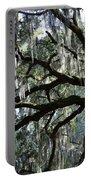 Silver Savannah Tree Portable Battery Charger