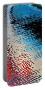 Silver Spirit Abstract Portable Battery Charger