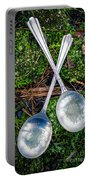 Silver Spoons  Portable Battery Charger
