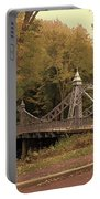Silver Suspension Bridge Portable Battery Charger