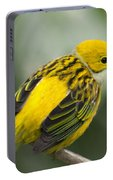 Silver-throated Tanager - Tangara Icterocephala Portable Battery Charger