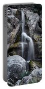 Silver Waterfall Portable Battery Charger