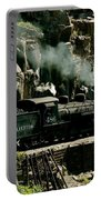 Silverton Steam Locomotive  Portable Battery Charger