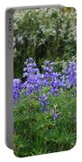 Silvery Lupine Black Canyon Colorado Portable Battery Charger