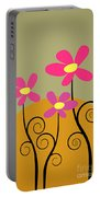 Simply Flowers Portable Battery Charger