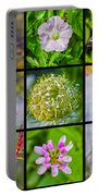 Simply Summer Wildflowers Portable Battery Charger