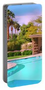 Sinatra Pool Cabana Palm Springs Portable Battery Charger