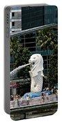 Singapore Merlion Park Portable Battery Charger