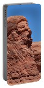 Singing Rock At Arches Np Portable Battery Charger