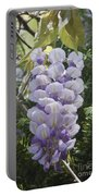 Single Wisteria  Portable Battery Charger