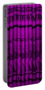 Singles In Purple Portable Battery Charger