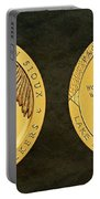 Sisseton Wahpeton Oyate Sioux Tribe Code Talkers Bronze Medal Art Portable Battery Charger