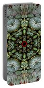 Sister Cactus Mandala Portable Battery Charger