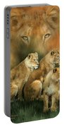 Sisterhood Of The Lions Portable Battery Charger