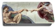 Sistine Chapel Ceiling Portable Battery Charger
