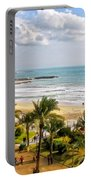 Sitges Spain On The Mediterranean Coast Portable Battery Charger
