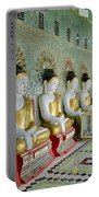 sitting Buddhas in Umin Thonze Pagoda Portable Battery Charger