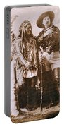 Sitting Bull And Buffalo Bill Portable Battery Charger