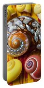 Six Snails Shells Portable Battery Charger