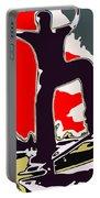Skateboarder Portable Battery Charger