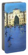 Skaters  Somerset House Portable Battery Charger by Andrew Macara