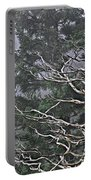 Skeletal Treescape Portable Battery Charger