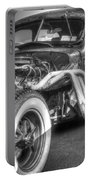 Skeleton Of A Classic Car Portable Battery Charger