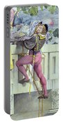 Sketch For The Passions Love Portable Battery Charger by Richard Dadd