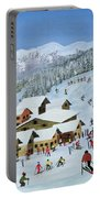 Ski Whizzz Portable Battery Charger by Judy Joel