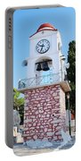 Skiathos Clock Tower Portable Battery Charger