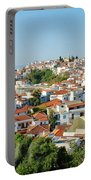 Skiathos Harbour In Greece Portable Battery Charger