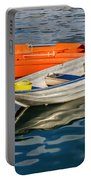Skiffs At The Harbour Portable Battery Charger