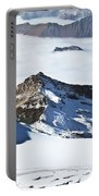 Skiing Down A Storm Portable Battery Charger