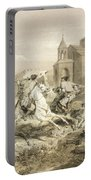 Skirmish Of Persians And Kurds Portable Battery Charger