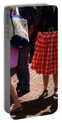 Skirts And Pooches On Capitol Hill Portable Battery Charger