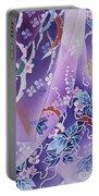 Skiyu Purple Robe Crop Portable Battery Charger