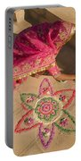 Skn 1707 Rangoli Designer Portable Battery Charger