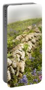Skomer Wildflowers Portable Battery Charger