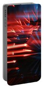 Skc 0272 Crystal Glass In Motion Portable Battery Charger