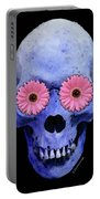 Skull Art - Day Of The Dead 1 Portable Battery Charger