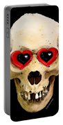 Skull Art - Day Of The Dead 2 Portable Battery Charger