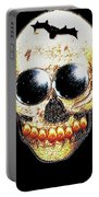 Skull Art In A Surrealism Definition Portable Battery Charger
